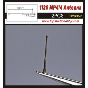1/20 McLaren  MP4/4 Antenna Set